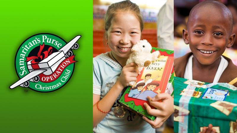 operation christmas child shoebox collection - Operation Christmas Child Shoebox