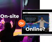 Church on-site or online?